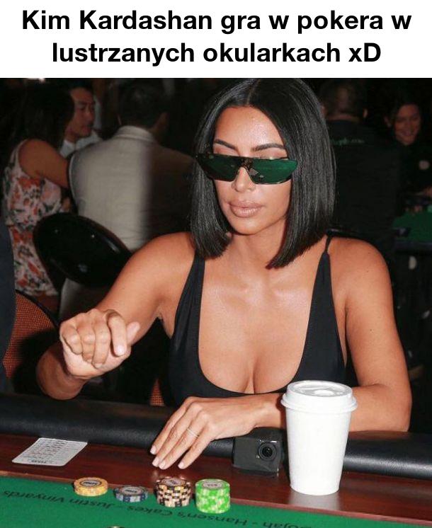 Kim Kardashian w akcji xD
