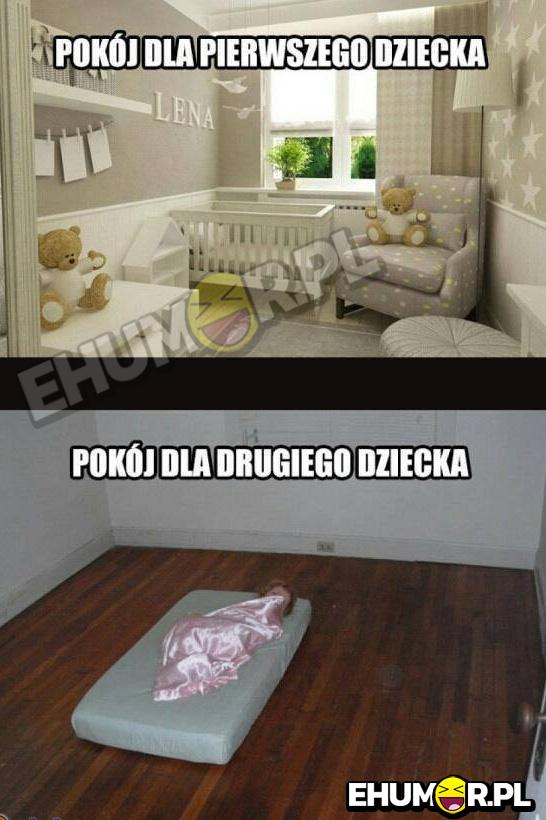 Pokój dla pierwszego
