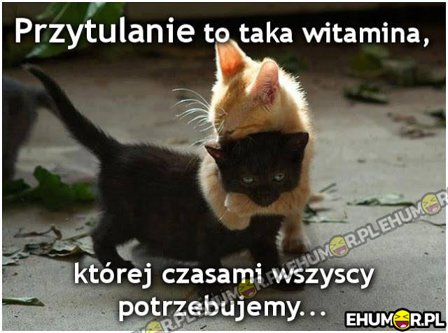 Przytulanie to taka witamina