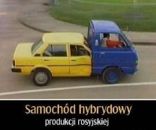 Rosyjski samochód hybrydowy