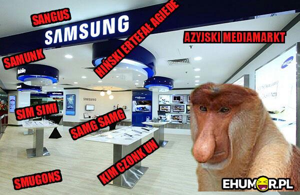 Kiedy Janusz idzie do salonu Samsunga xD