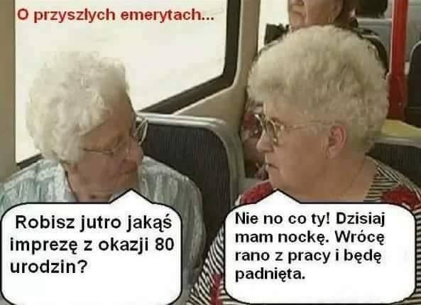 O przyszłych emerytach