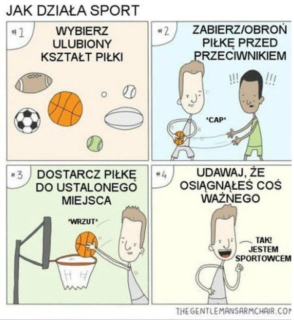 Jak działa sport