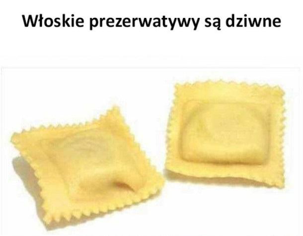 Włoskie prezerwatywy