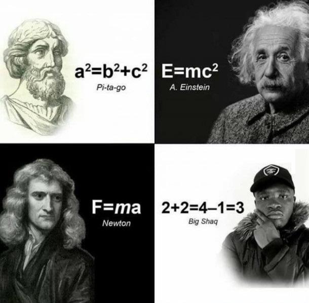 Wielcy matematycy xD