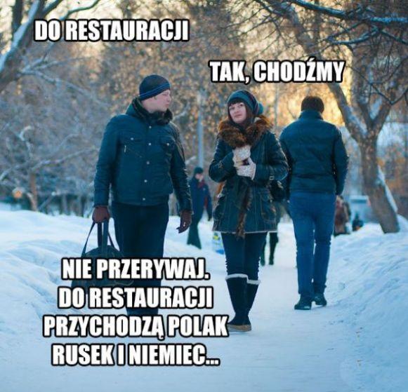 Do restauracji xD