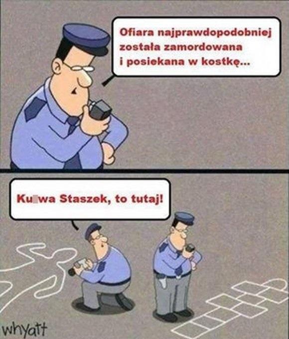 Policjant w akcji xD