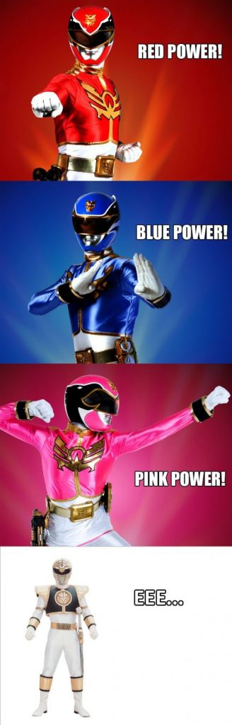 Power Ranger w dzisiejszych czasach