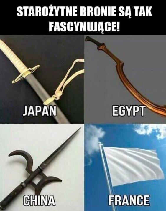 Starożytne bronie D
