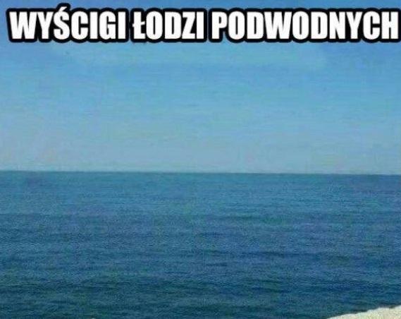 Wyścigi łodzi podwodnych xD