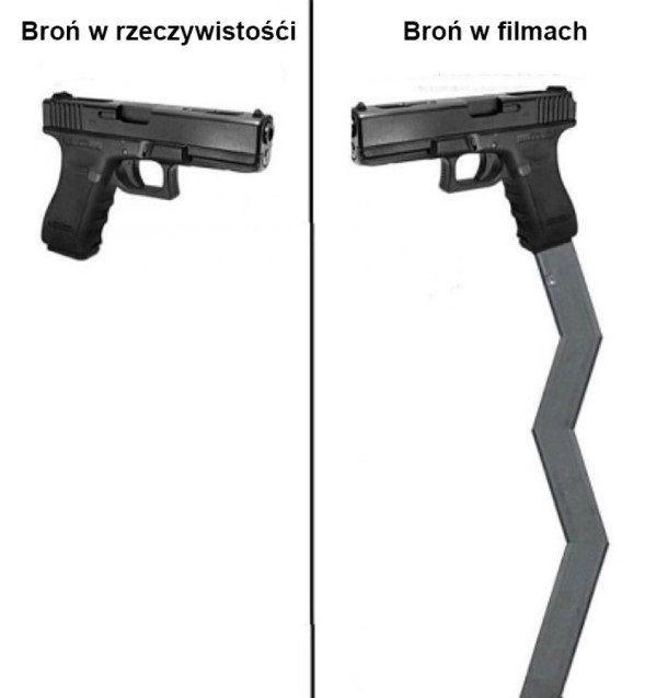 Broń w filmach xD