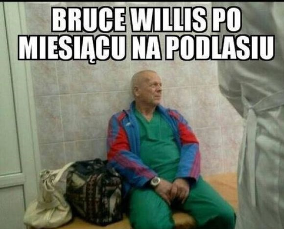 Bruce Willis na Podlasiu