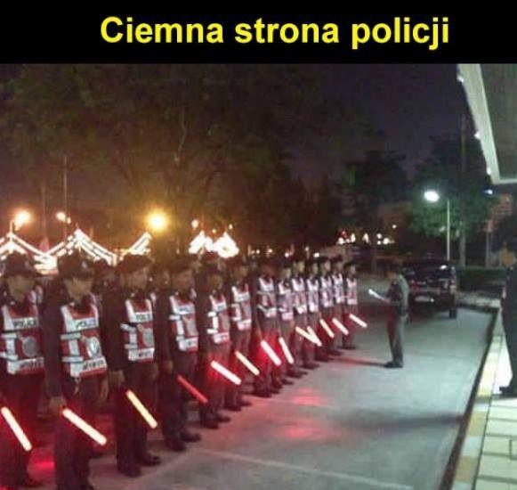 Ciemna strona policji xD