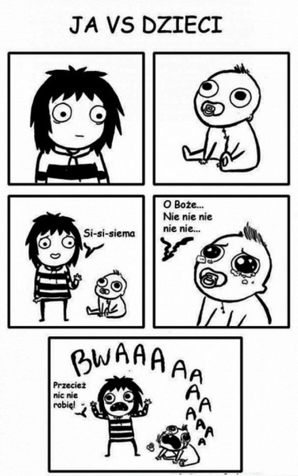 Ja vs dzieci