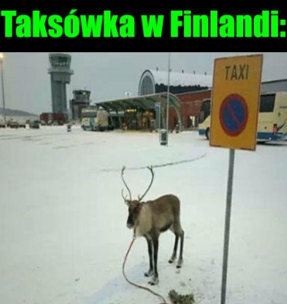 Taksówka w Finlandii