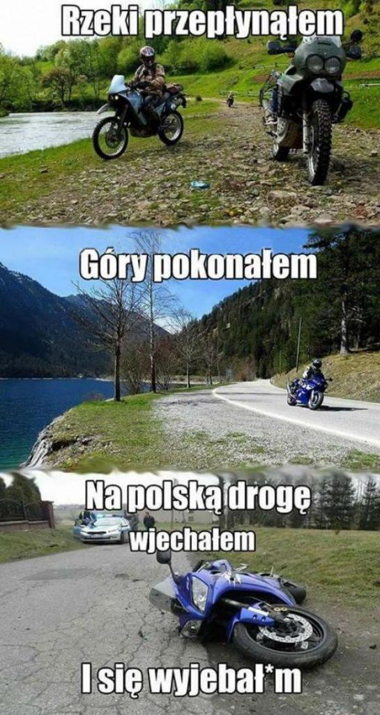 Typowe polskie drogi xD
