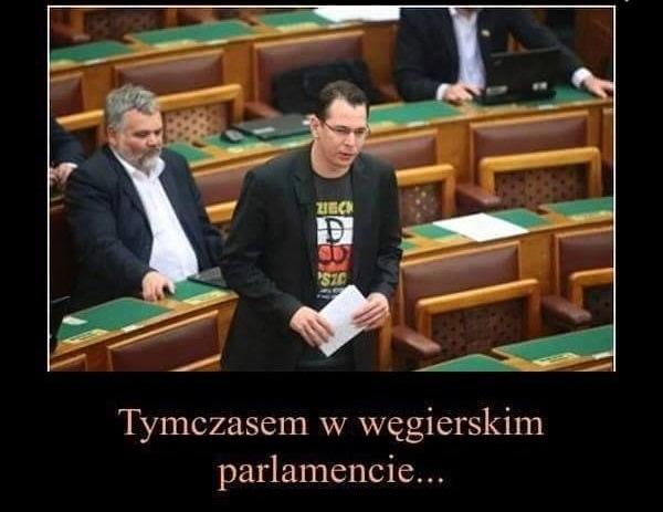 W węgierskim parlamencie