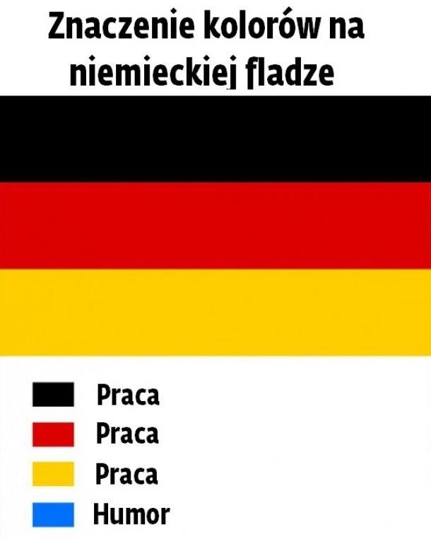 Znaczenie kolorów na niemieckiej fladze