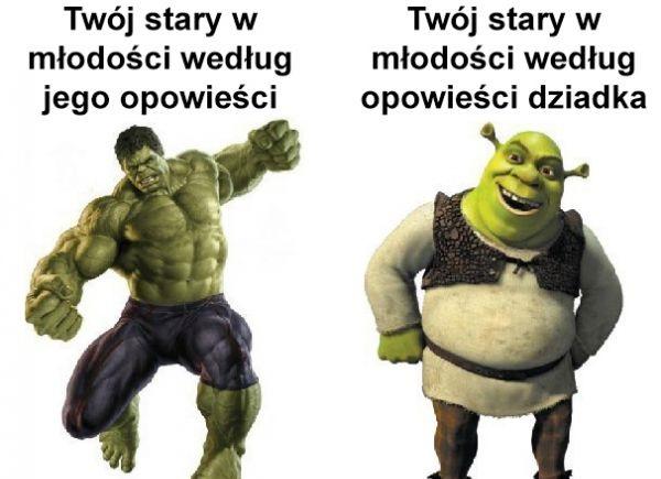 Twój stary według różnych opowieści