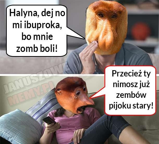 Halyna dej no mi ibuproka… xD