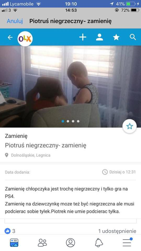 Kto chce Piotrusia