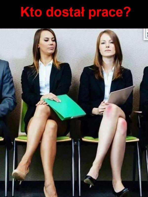 Kto dostał pracę