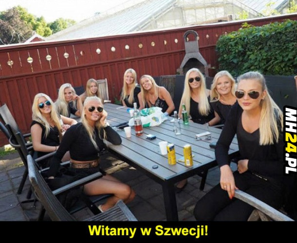 Piękne Szwedki