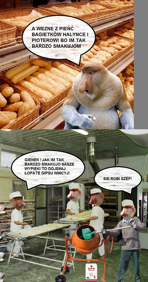 Janusz w piekarni