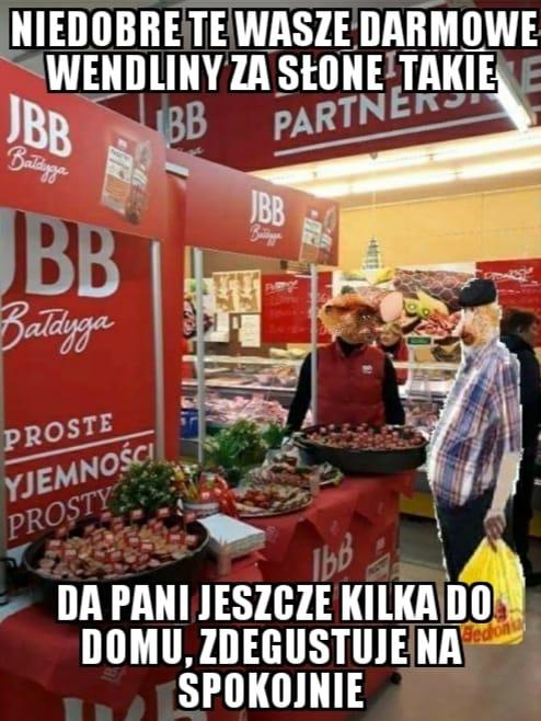 Janusz wybrzydza na degustacji
