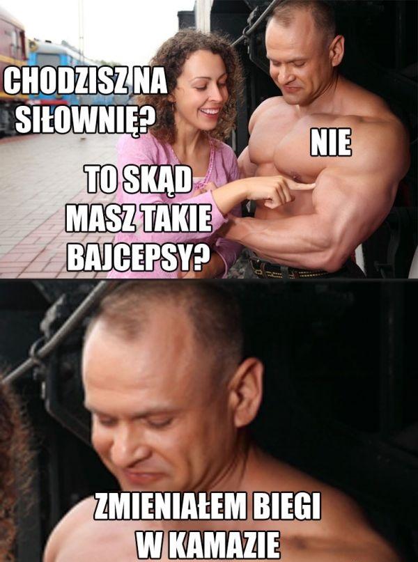 Tajemnica jego bicepsów