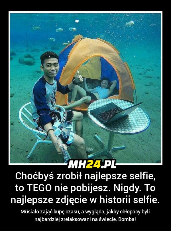 Tego selfie nie pobijesz