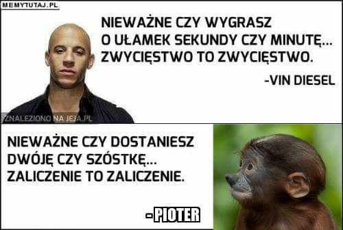 Vin Diesel vs Pioter