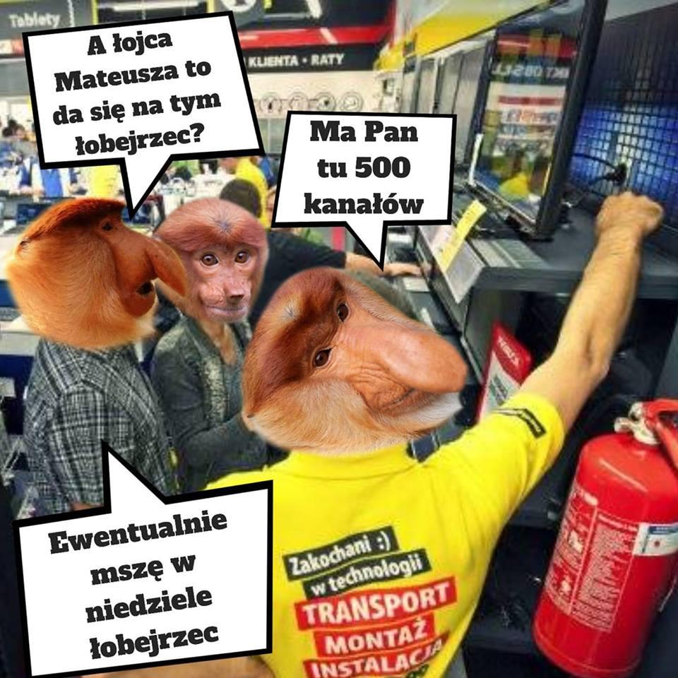 Janusz chce kupić telewizor