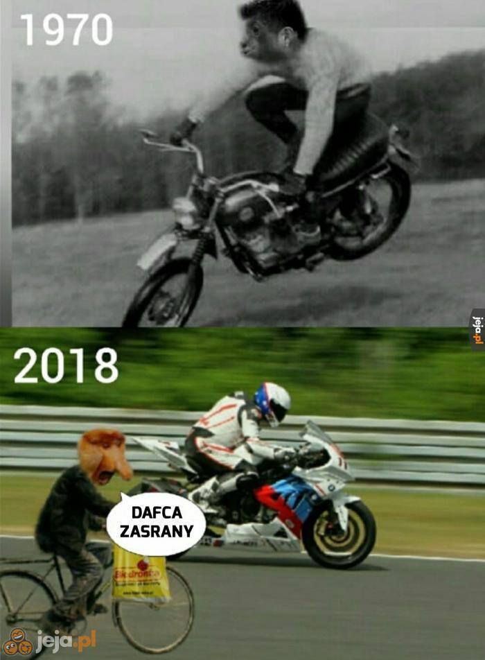 Janusz w 1970 roku i w 2018