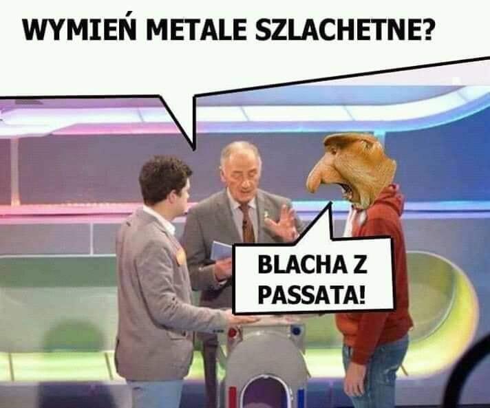 Metal szlachetny według Janusza