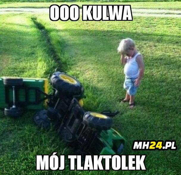 No i po traktorku