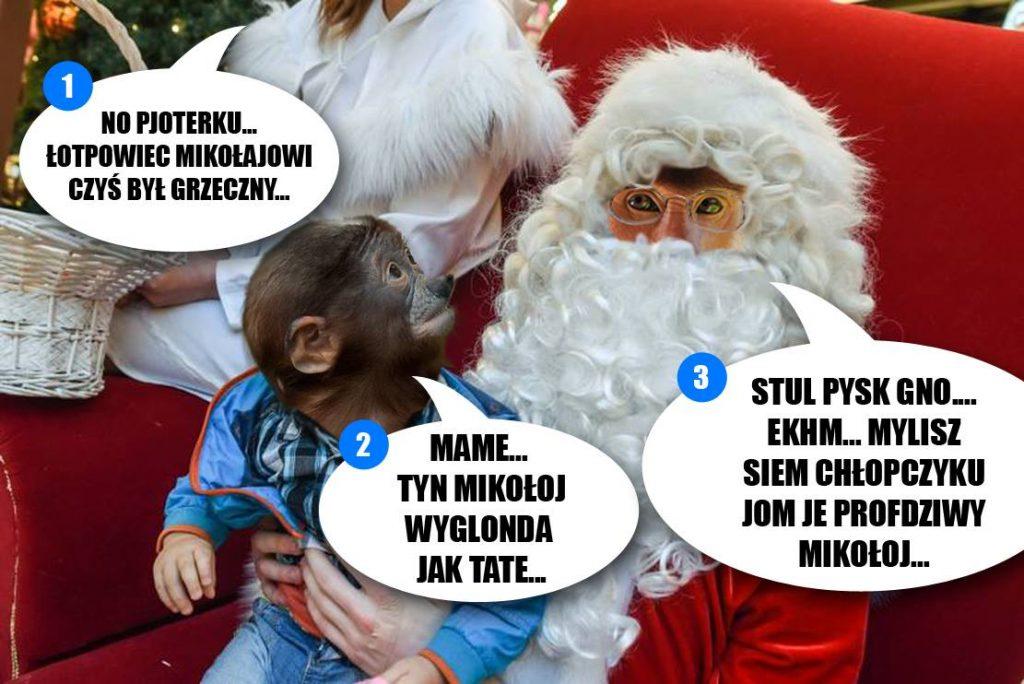 Podejrzany ten Mikołaj