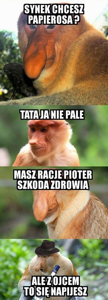 Janusz namawia Pjotera do złego