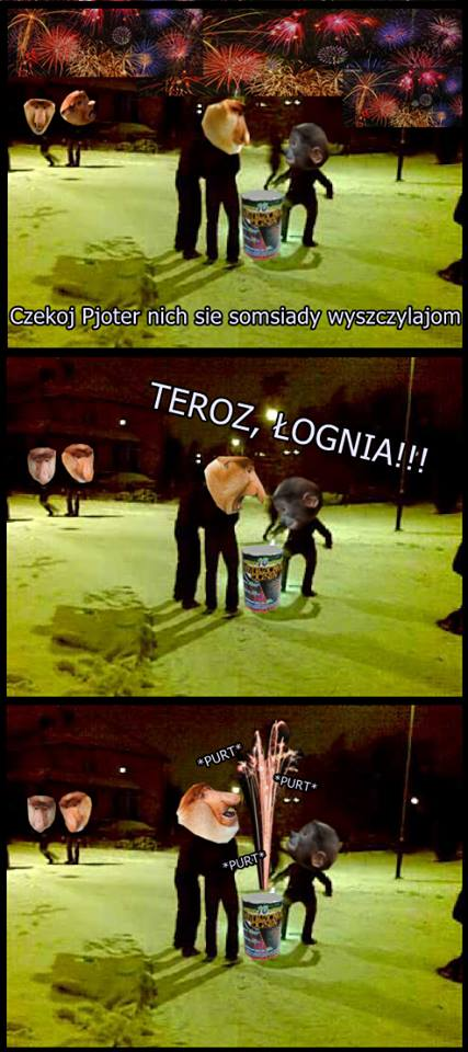 Janusz z Pioterem w Sylwejstra xD