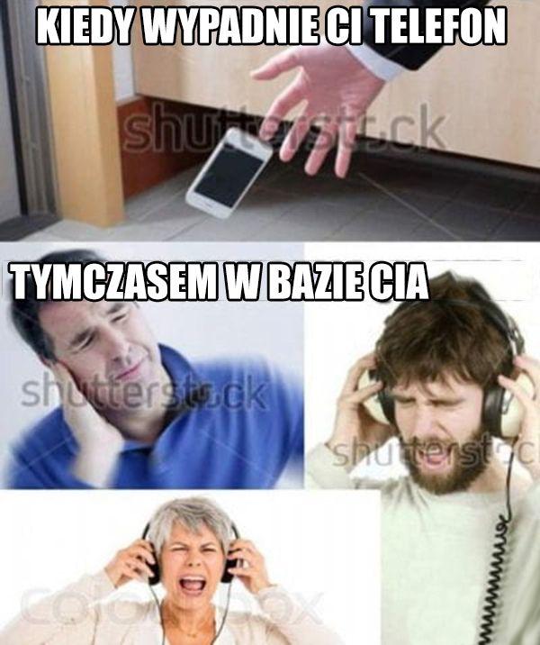 Kiedy wypadnie Ci telefon