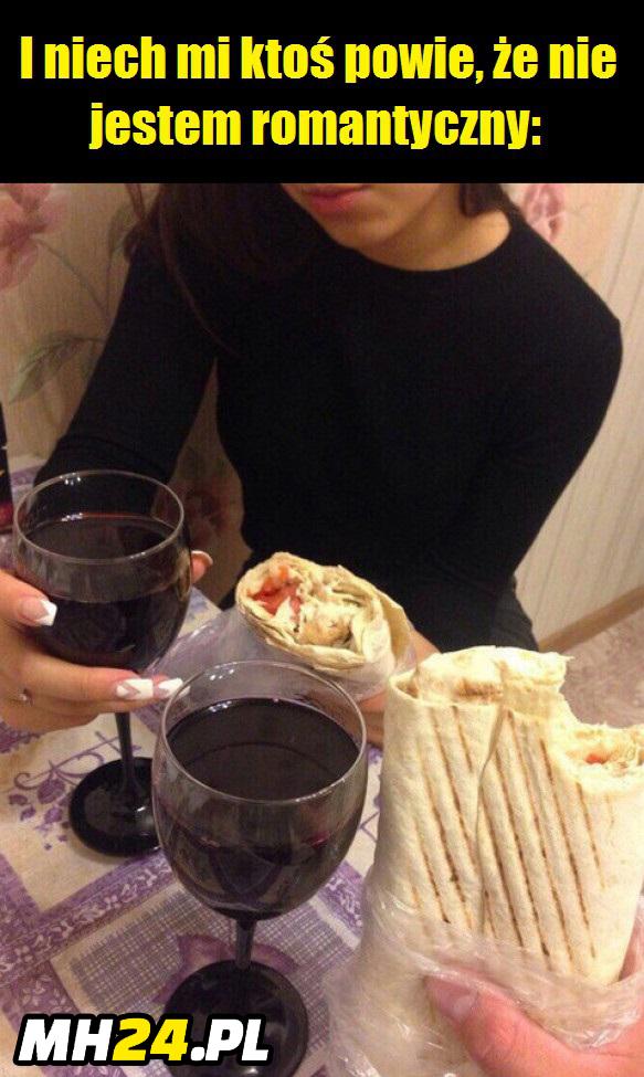 Najbardziej romantyczna kolacja xD