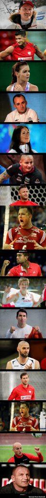 Największe gwiazdy sportu jako Popek