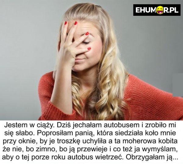 Problem dziewczyny w ciąży