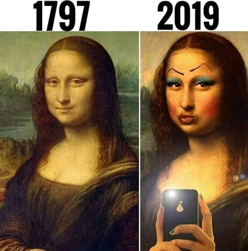 Gdyby Mona Lisa żyła w naszych czasach
