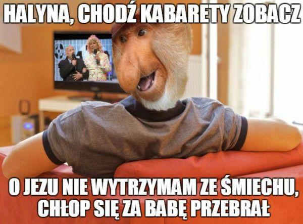 Janusz ogląda kabarety