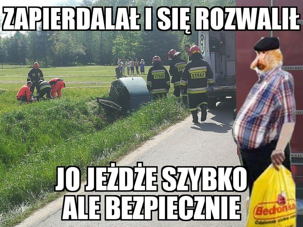 Janusz po czyimś wypadku…