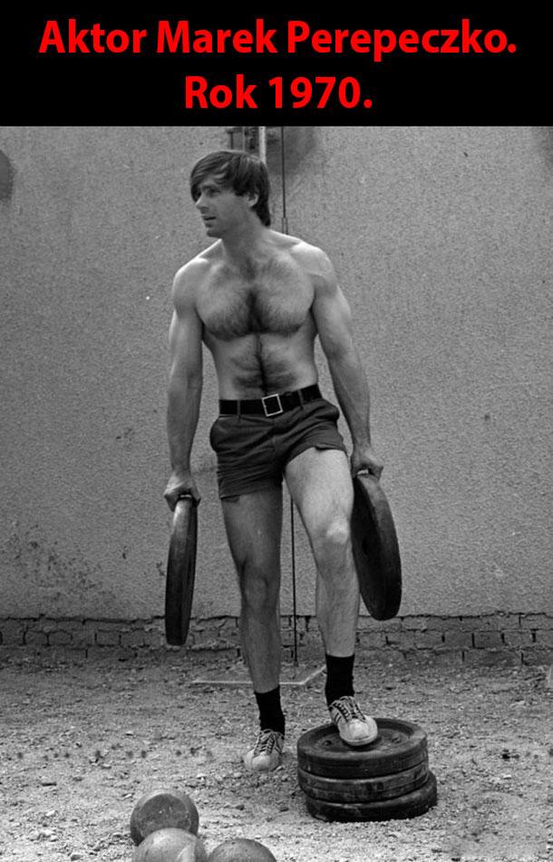 Marek Perepeczko w 1970 roku