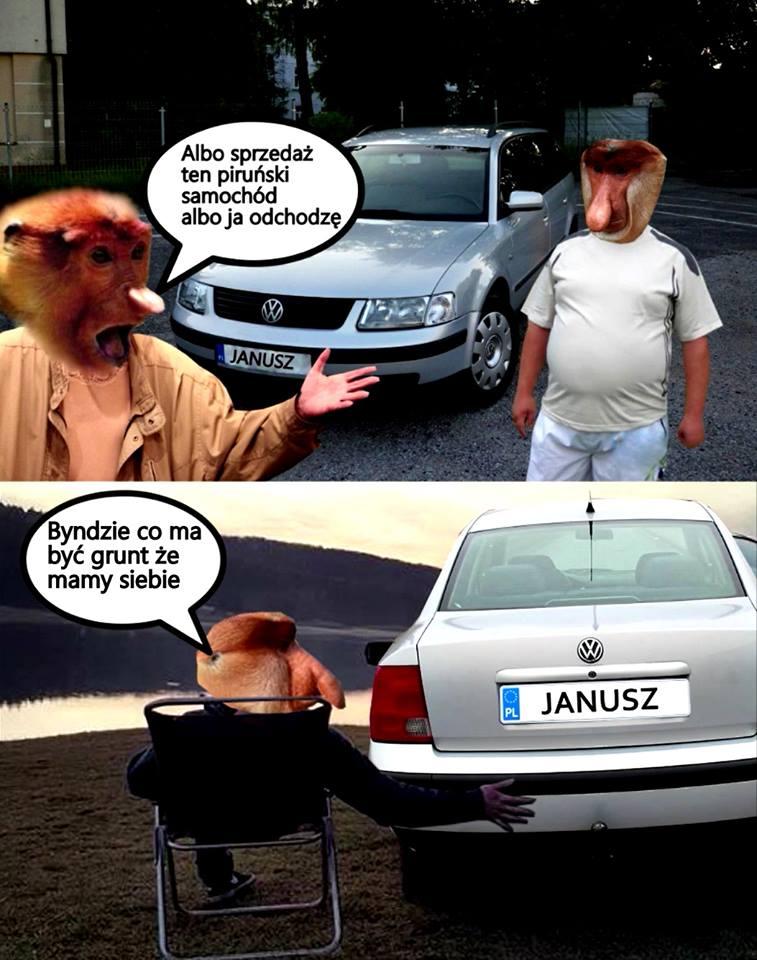 Trudny wybór przed Januszem