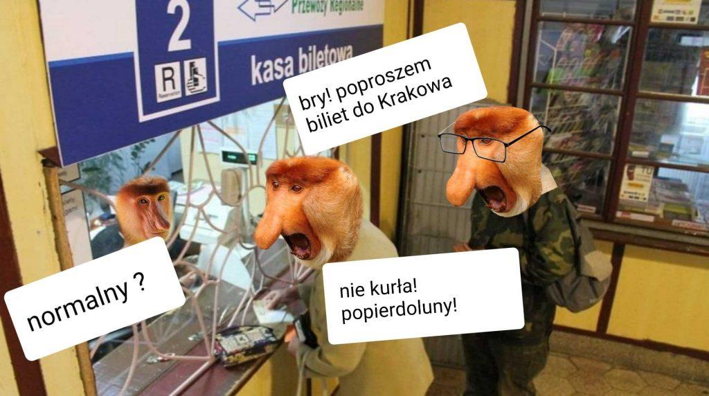 Janusz i bilet do Krakowa