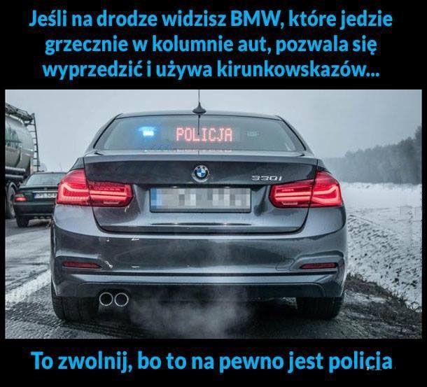 Jeśli na drodze widzisz BMW